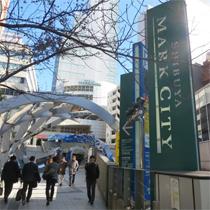 渋谷マークシティ道玄坂上方面入口